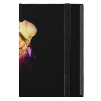 Elegant Iris Sunset Monogram iPad Mini Cases