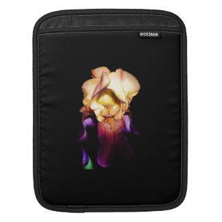 Elegant Iris Sunset Monogram Sleeve For iPads