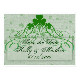 Elegant Irish Post Card