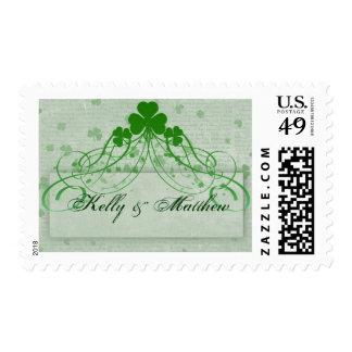 Elegant Irish Postage Stamps