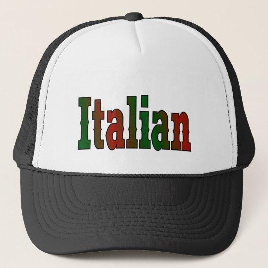 elegant Italian Trucker Hat