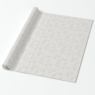 Elegant Ivory Lace Look Wrapping Paper