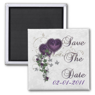 Elegant Ivy Wedding Suite Save the Date Magnets