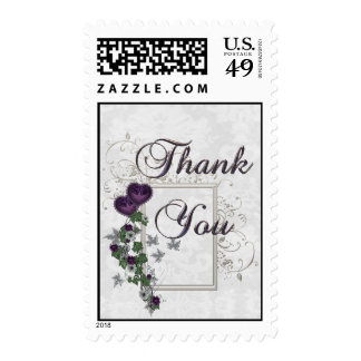 Elegant Ivy Wedding Suite Thank You Stamp