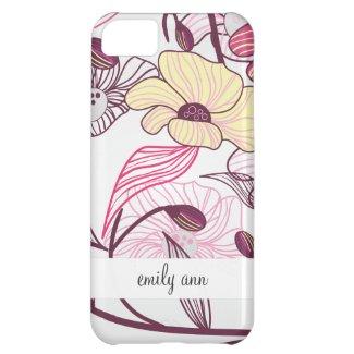 Elegant Japanese Flowers iPhone 5C Cases