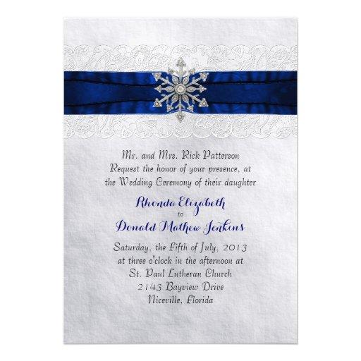 Personalized Lake Invitations