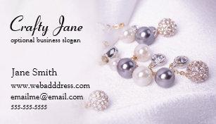 Jewelry Business Cards Zazzle