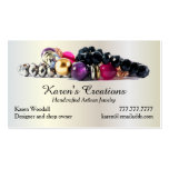 Elegant Jewelry or Jewellery Designer Maker Double-Sided Standard Business Cards (Pack Of 100)