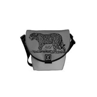 Elegant Jungle Fever Courier Bag