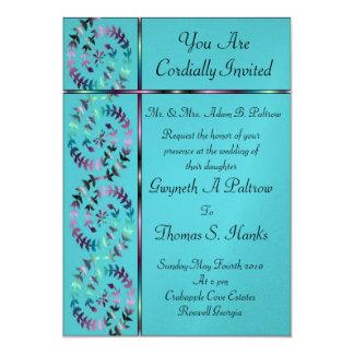 Elegant Kaleidoscope 5x7 Paper Invitation Card