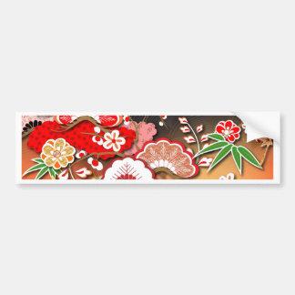 Elegant Kimono - Japanese Design Bumper Sticker