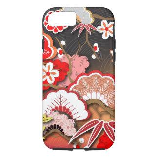 Elegant Kimono - Japanese Design iPhone 8/7 Case