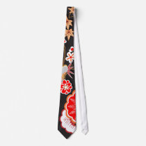 Elegant Kimono - Japanese Design Neck Tie