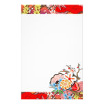Elegant Kimono - Japanese Design Stationery