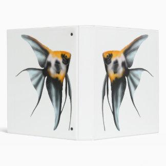 Elegant Koi Angelfish Binder