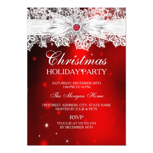 Corporate Holiday Party Invitations Zazzle