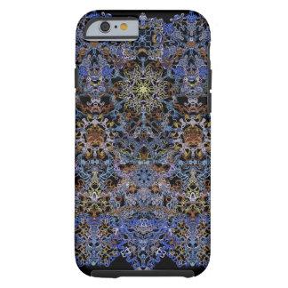 Elegant lace pattern in noble colors-Art Nouveau Tough iPhone 6 Case