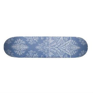 Elegant Lacy Blue Skate Deck