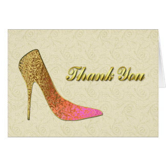 Elegant Ladies Thank You Note Card