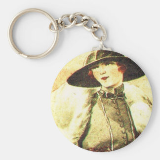 Elegant lady 1928 keychain