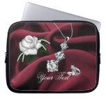 Elegant Lady 4 Electronics Bag Laptop Sleeves