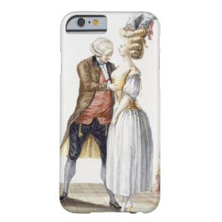 Elegant Lady at a Fitting with her Tailor, plate f Barely There iPhone 6 Case
