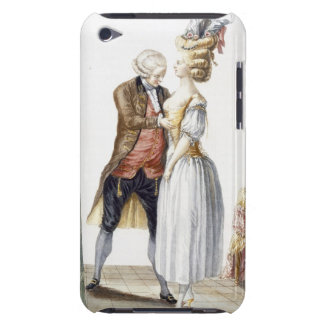 Elegant Lady at a Fitting with her Tailor, plate f iPod Case-Mate Case
