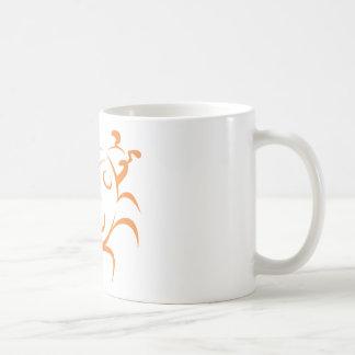Elegant Ladybug Tattoo Style Mugs