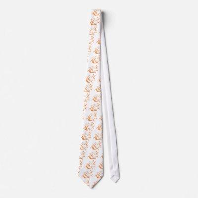 Elegant Ladybug Tattoo Style Necktie by graphicdesigner
