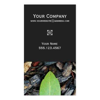 Elegant Landscaper Business Card