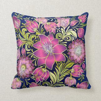 Elegant Lavender Floral Pillow - SRF