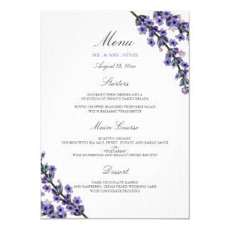 elegant dinner menus