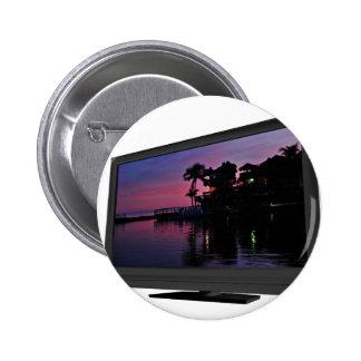 Elegant LED t.v 2 Inch Round Button