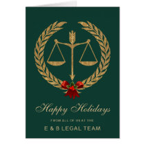 Elegant Legal Industry Holiday Card