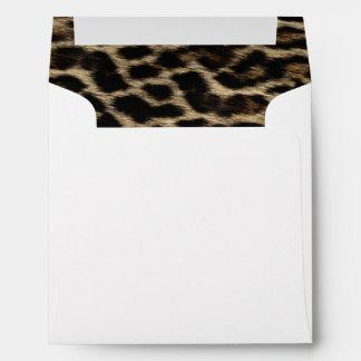 Elegant Leopard Envelope