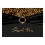 Elegant Leopard Thank You Cards