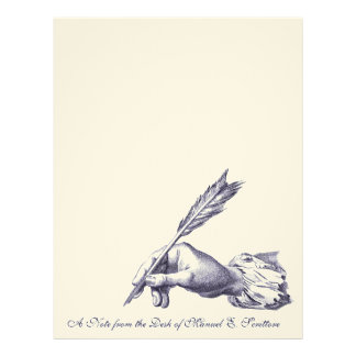 Elegant Letterhead for an Author, Writer or Editor