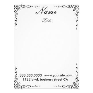 elegant letterheads custom letterhead
