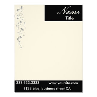 elegant letterheads customized letterhead
