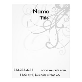 elegant letterheads letterhead design