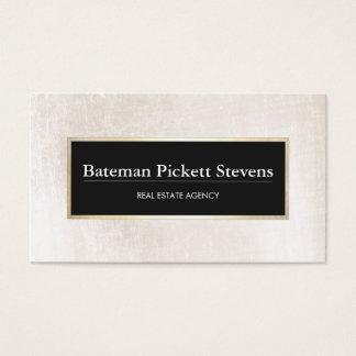 Elegant Licensed Real Estate Broker Professional Business Card