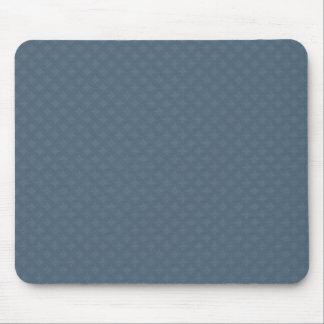 Elegant light blue octagonal pattern on rough blue mouse pads