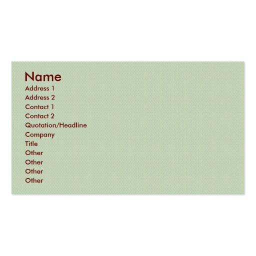 elegant light brown damask circles on blue backgro business card