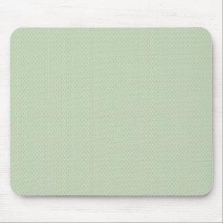 elegant light brown damask circles on blue backgro mousepad