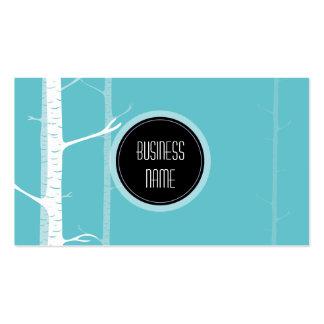 Elegant Light Forest Green Business Card