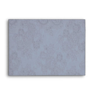 Elegant Lilac Beaded Lace Card Envelope