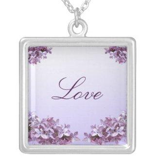 Elegant Lilac Jewelry