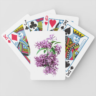 Elegant Lilacs Bicycle Playing Cards
