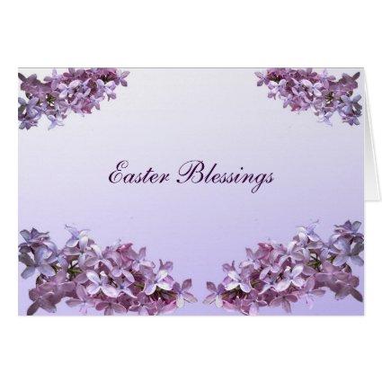 Elegant Lilacs Easter Cards