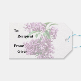 Elegant Lilacs Gift Tags